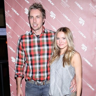 Dax Shepard, Kristen Bell in A Screening of Hit and Run