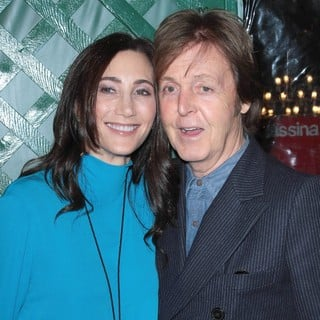 Nancy Shevell, Paul McCartney in Paul McCartney Holds A Private Party to Premiere His Video My Valentine - Arrivals