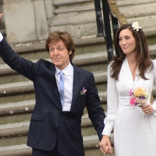 Paul McCartney, Nancy Shevell in The Wedding of Paul McCartney and Nancy Shevell