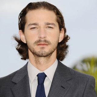 Shia LaBeouf - Lawless Photocall - During The 65th Annual Cannes Film Festival