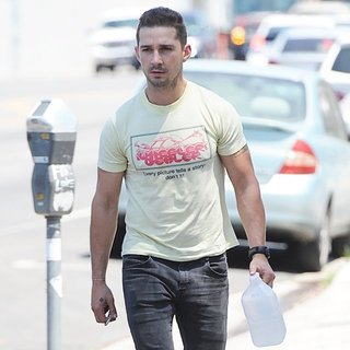 Shia LaBeouf in Shia LaBeouf Exits His Therapy Meeting