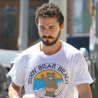 Shia LaBeouf in Shia LaBeouf Seen Leaving An AA Meeting