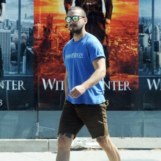 Shia LaBeouf Spotted Leaving Ultra Body Fitness