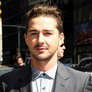 Shia LaBeouf - The Late Show with David Letterman - Arrivals