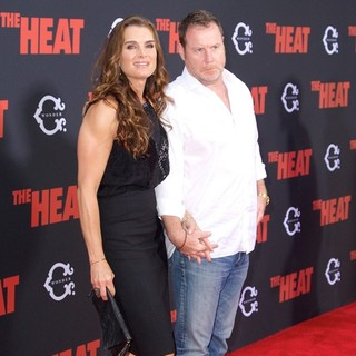 Brooke Shields, Chris Henchy in New York Premiere of The Heat - Red Carpet Arrivals