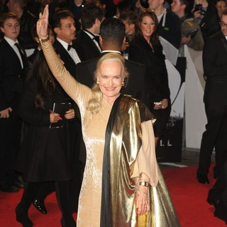 Shirley Eaton in World Premiere of Skyfall - Arrivals