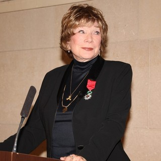 Shirley MacLaine Receives The Legion of Honnour by Frederic Mitterand