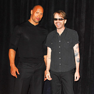 The Rock, Billy Bob Thornton in ShoWest 2010 - CBS Films introduces upcoming films