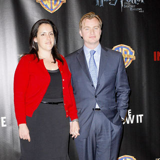Christopher Nolan, Emma Thomas in ShoWest 2010 - Warner Brothers Pictures' 'Big Picture 2010'