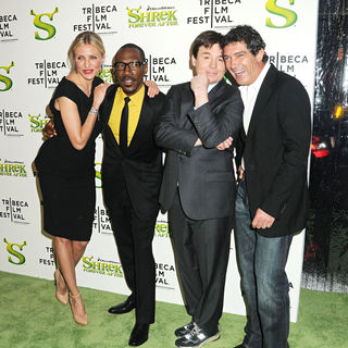Cameron Diaz, Eddie Murphy, Mike Myers, Antonio Banderas in Premiere of 'Shrek Forever After' during the 9th Annual Tribeca Film Festival - Arrivals