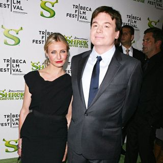 Mike Myers in Premiere of 'Shrek Forever After' during the 9th Annual Tribeca Film Festival - Arrivals - shrek_premiere_013_wenn5464534