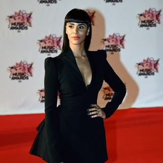 Shy'm in 17th NRJ Music Awards - Arrivals