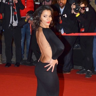 Shy'm in 2013 NRJ Music Awards - Arrivals