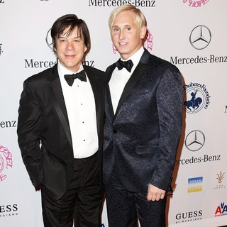 Alan Siegel, David Meister in 26th Anniversary Carousel of Hope Ball - Presented by Mercedes-Benz - Arrivals