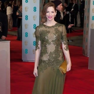 Sienna Guillory in The EE British Academy Film Awards 2015 - Arrivals