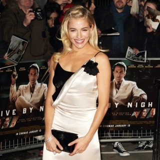 Sienna Miller-Live by Night European Premiere - Arrivals