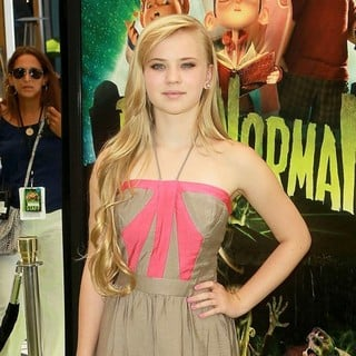 Sierra McCormick in World Premiere of ParaNorman