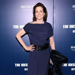 Sigourney Weaver in New York Premiere of The Ides of March - Arrivals