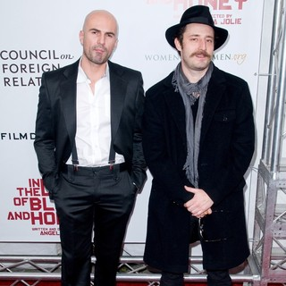 Ermin Sijamija, Nikola Djuricko in Premiere of In the Land of Blood and Honey - Arrivals