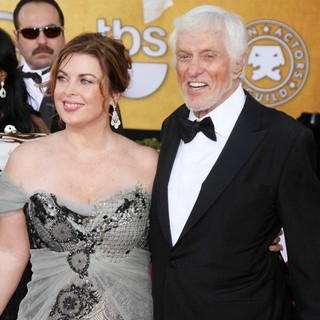 Arlene Silver, Dick Van Dyke in The 18th Annual Screen Actors Guild Awards - Arrivals