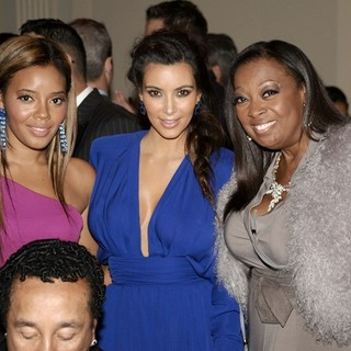 Angela Simmons, Kim Kardashian, Star Jones in The Angel Ball 2012