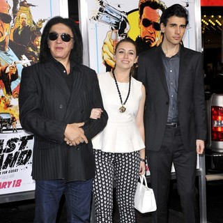 Gene Simmons, Sophie Simmons, Nick Simmons in The World Premiere of The Last Stand