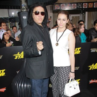 Gene Simmons, Sophie Simmons in The World Premiere of The Last Stand