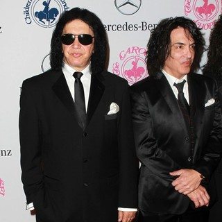 Gene Simmons, Paul Stanley, KISS in 26th Anniversary Carousel of Hope Ball - Presented by Mercedes-Benz - Arrivals