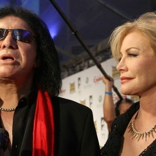 Gene Simmons, Shannon Tweed in 2012 Revolver Golden Gods Awards Show
