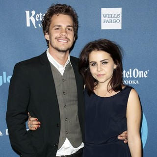 Johnny Simmons, Mae Whitman in 24th Annual GLAAD Media Awards - Arrivals