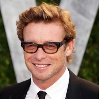 Simon Baker in 2012 Vanity Fair Oscar Party - Arrivals