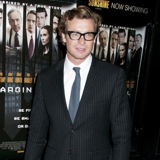 Simon Baker in Premiere of Margin Call - Outside Arrivals
