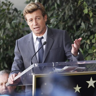 Simon Baker in Simon Baker Is Honoured with A Star on The Hollywood Walk of Fame