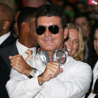Simon Cowell in The X Factor Season Two Premiere Screening and Handprint Ceremony