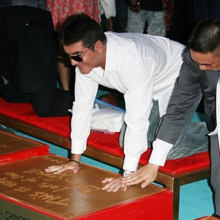 Simon Cowell - The X Factor Season Two Premiere Screening and Handprint Ceremony
