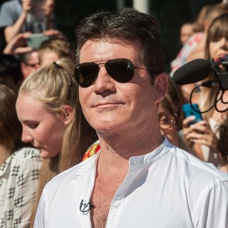 Simon Cowell - X Factor Auditions 2015 - Arrivals