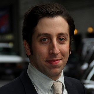 Simon Helberg in The Late Show with David Letterman - Arrivals