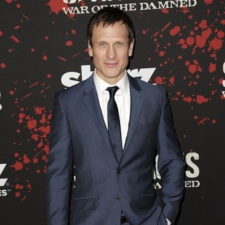Simon Merrells in U.S. Premiere Screening of Spartacus: War of the Damned