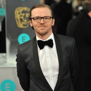Simon Pegg in The 2013 EE British Academy Film Awards - Arrivals