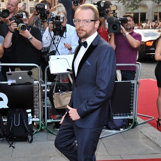 Simon Pegg in GQ Men of The Year Awards 2013 - Arrivals