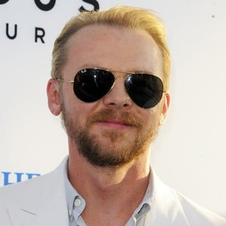 Simon Pegg in The World's End Hollywood Premiere
