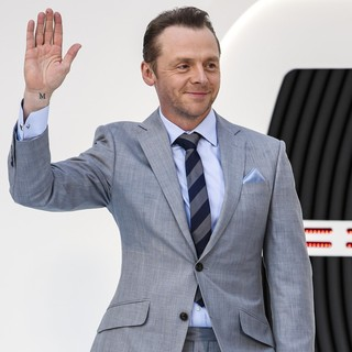 Simon Pegg in U.K. Premiere of Star Trek Into Darkness - Arrivals