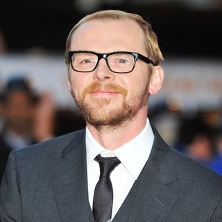 Simon Pegg in The UK Film Premiere of The Adventures of Tintin: The Secret of the Unicorn - Arrivals