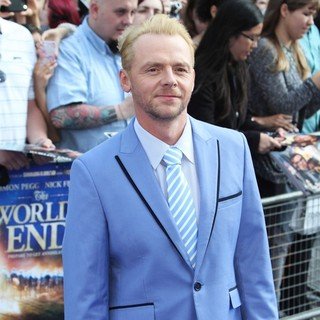 Simon Pegg in UK Premiere of The World's End - Arrivals