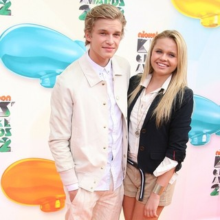 Cody Simpson, Alli Simpson in 2012 Kids' Choice Awards - Arrivals