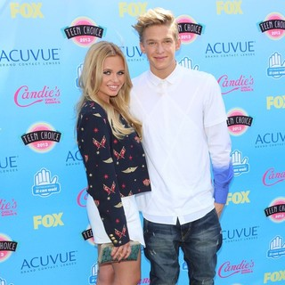 Alli Simpson, Cody Simpson in 2013 Teen Choice Awards