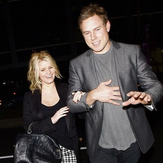 Jessica Simpson and Eric Johnson Leaving Trousdale Nightclub