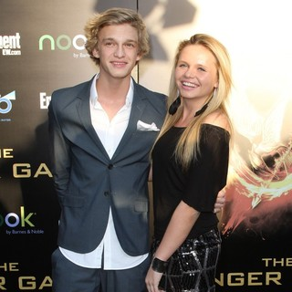 Cody Simpson, Alli Simpson in Los Angeles Premiere of The Hunger Games - Arrivals