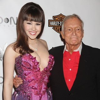 Claire Sinclair, Hugh Hefner in Playboy's Playmate of The Year 2011