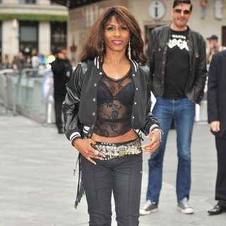 Sinitta in The UK Premiere of Rock of Ages